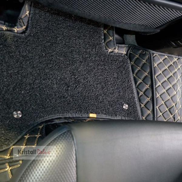 Коврики Kristall-auto Toyota Land Cruiser Prado 150 2009-2019/Lexus GX460 2009-2019 черн/беж.
