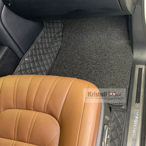 Коврики Kristall-auto Toyota Land Cruiser 200 2008-2019/Lexus LX570 2008-2019 черный