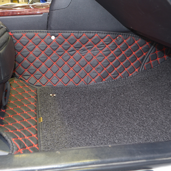 Коврики Kristall-auto Lexus RX330 2003-2014 и Toyota Highlander 2001-2007 черный / красный