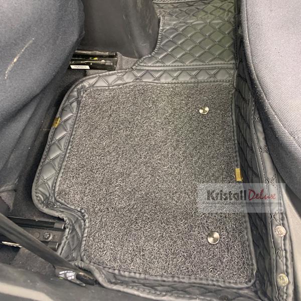 Коврики Kristall-auto Hyundai Solaris 2011-2015 (Hyundai Accent,Kia Rio) черный