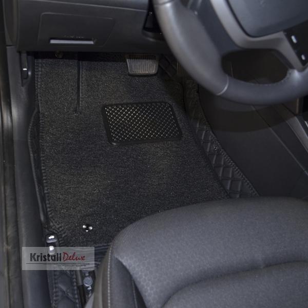 Коврики Kristall-auto Hyundai Elantra 2015-2018 черный