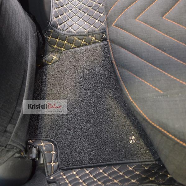 Коврики Kristall-auto Toyota Camry 40 2006-2011 черный / бежевый