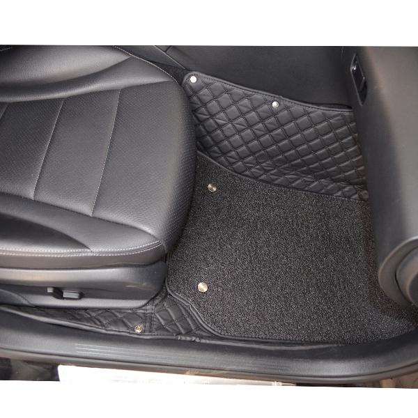 Коврики Kristall-auto Mitsubishi Pajero 3-4 1999 - 2020 черный