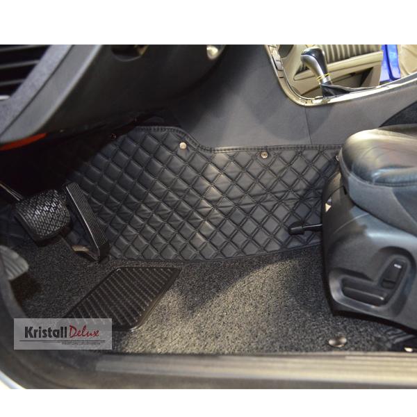 Коврики Kristall-auto Mercedes E-class W211 2003-2009  черный