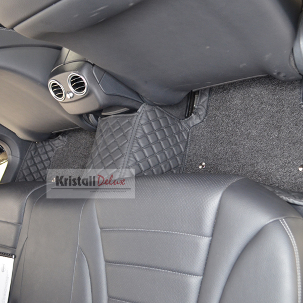 Коврики Kristall-auto Volkswagen Touareg 2002-2010 черный