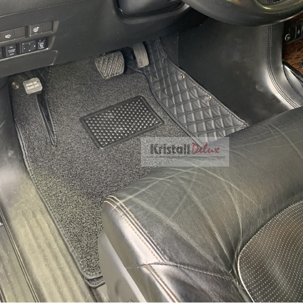 Коврики Kristall-auto Nissan Patrol Y62 2010-2019 и Infiniti QX56 2010-2013,QX80 2014-2019 черный