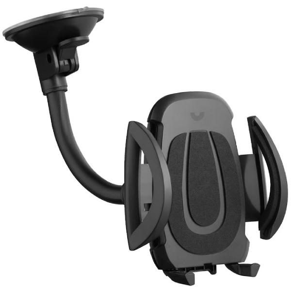 Держатель Prime Line 3.5-6.5, PU-присоска, черный
