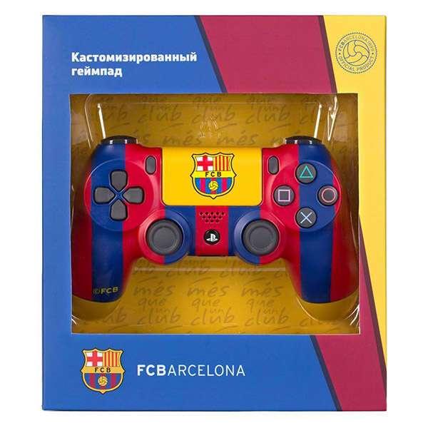 Беспроводной геймпад Rainbo Custom PS4 Dualshock «Барселона - клубный»