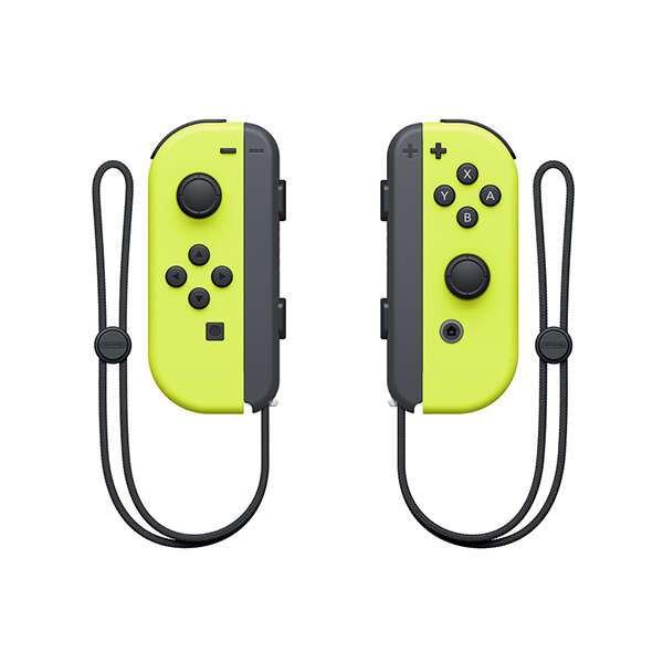 Контроллеры для Nintendo Switch Набор 2 Joy-Con (неоновый желтый)