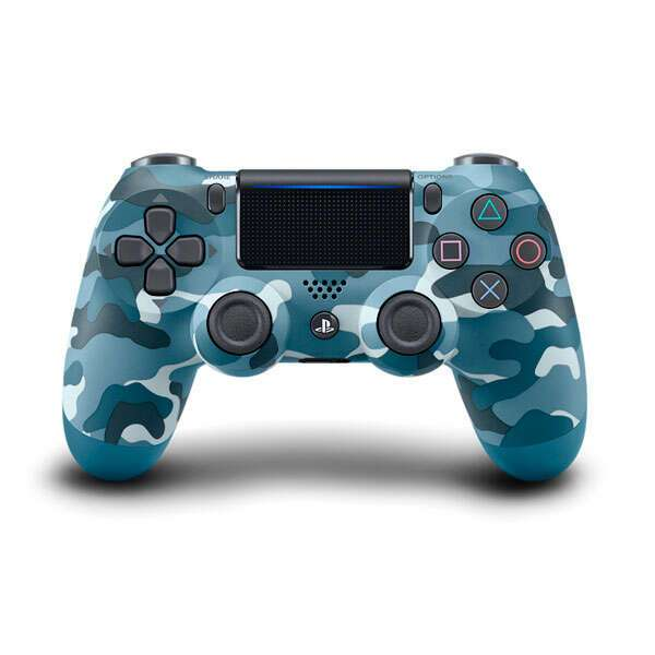 Джойстик для консоли SONY DualShock 4 Cont Blue Camouflage