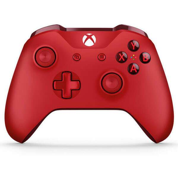 Джойстик для консоли Microsoft Xbox One Standard Edition Red (WL3-00028)