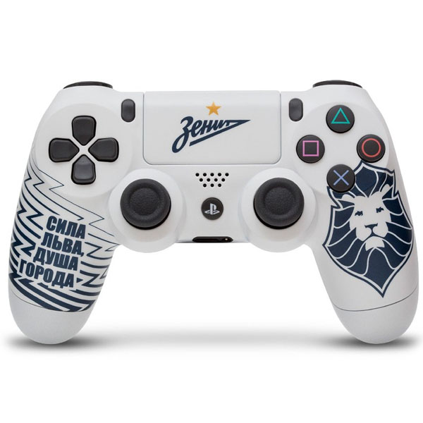 Беспроводной геймпад Rainbo Зенит «Сила Льва» Custom PS4 Dualshock