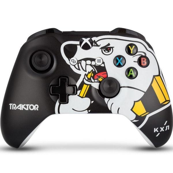 "Беспроводной геймпад Rainbo КХЛ ""Трактор"" Custom Xbox One"