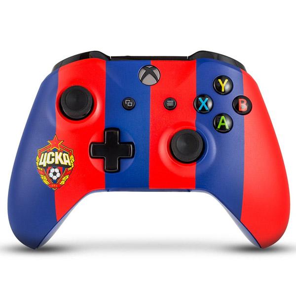 Беспроводной геймпад Rainbo ЦСКА «Красно-синий» Custom Xbox One