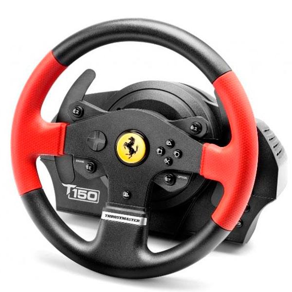 Игровой руль Thrustmaster T150 Ferrari Wheel Force Feedback