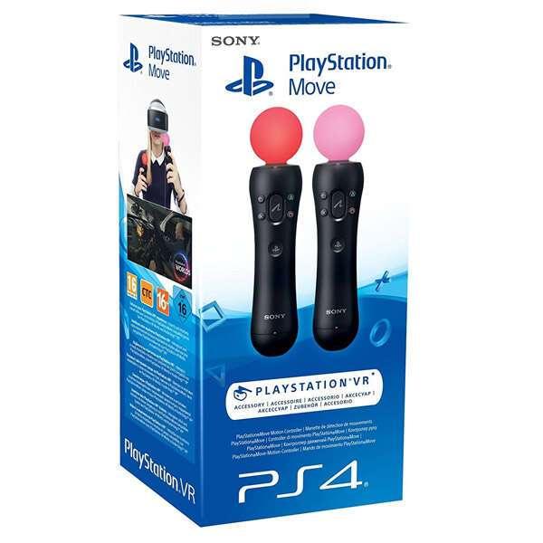 Набор из двух контроллеров Sony PlayStation Move