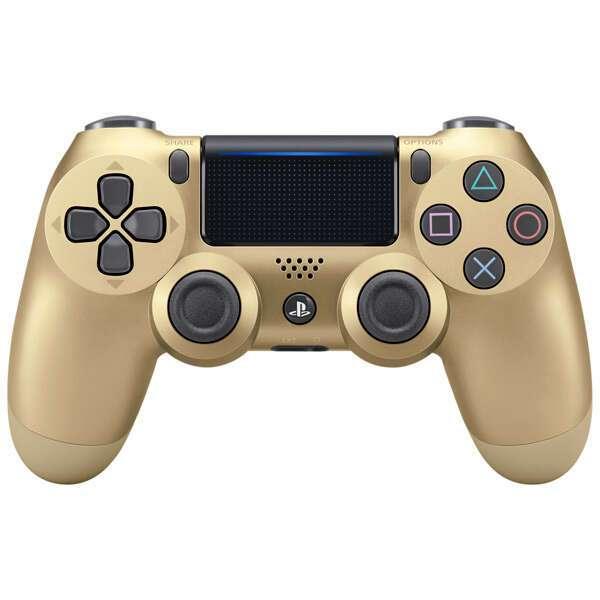 Джойстик Sony DualShock 4 v2 Gold (CUH-ZCT2E)