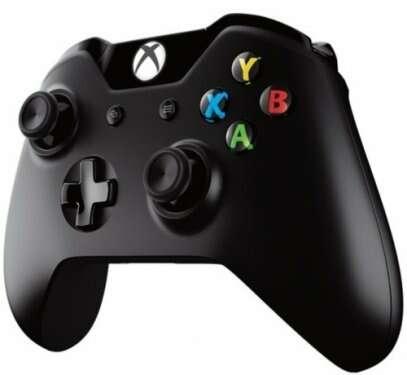Контроллер Microsoft Xbox One Беспроводной геймпад 6CL-00002 (черный)