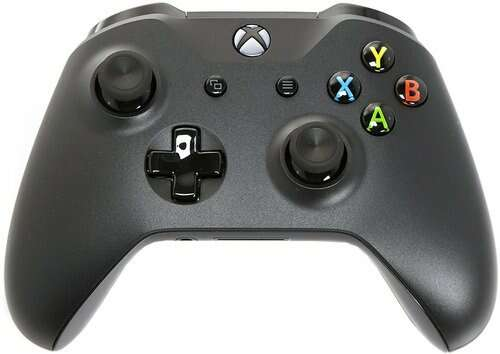 Microsoft Xbox One Беспроводной геймпад 6CL-00002 (черный)