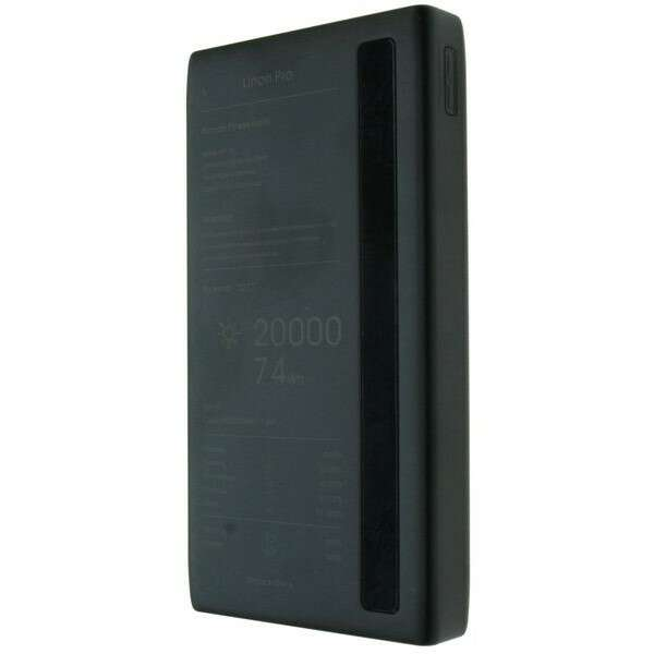 Power bank Remax Linon Pro Series 20000mAhRPP-73 Black