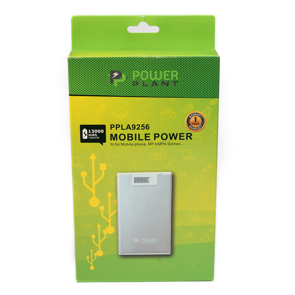 Универсальный powerbank PowerPlant PB-LA9256, 13000mAh