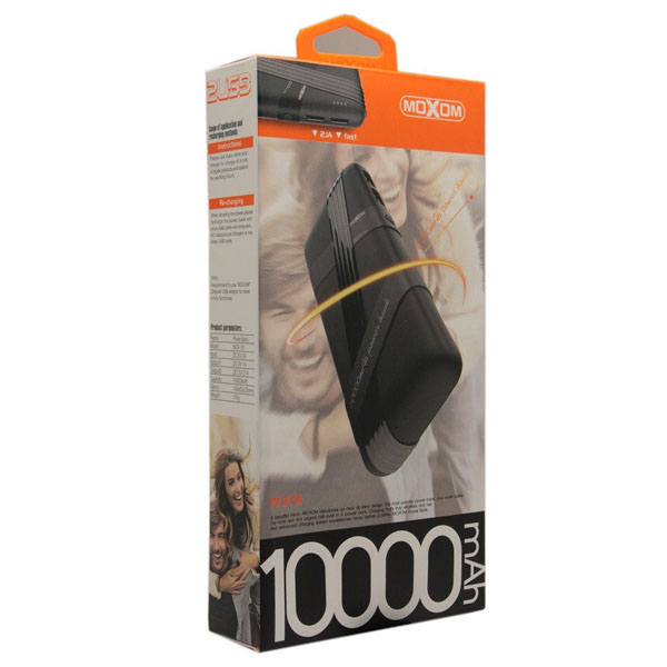 Power Bank Moxom 10000mAh MCK-016 Black