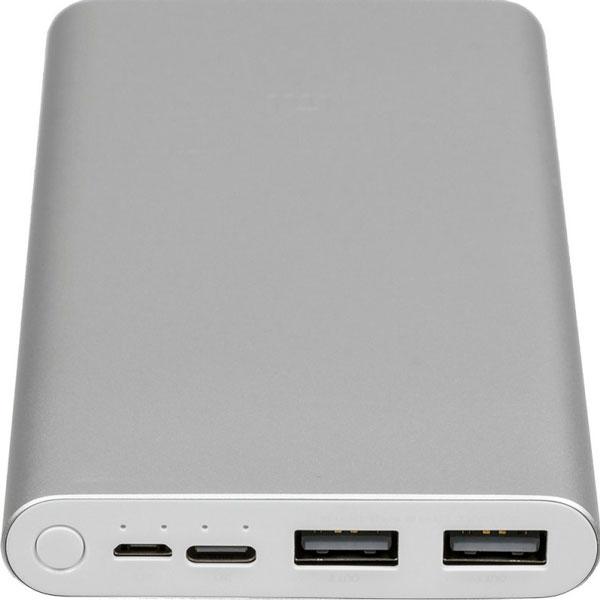 Powerbank Xiaomi 3 10 000Mah Silver