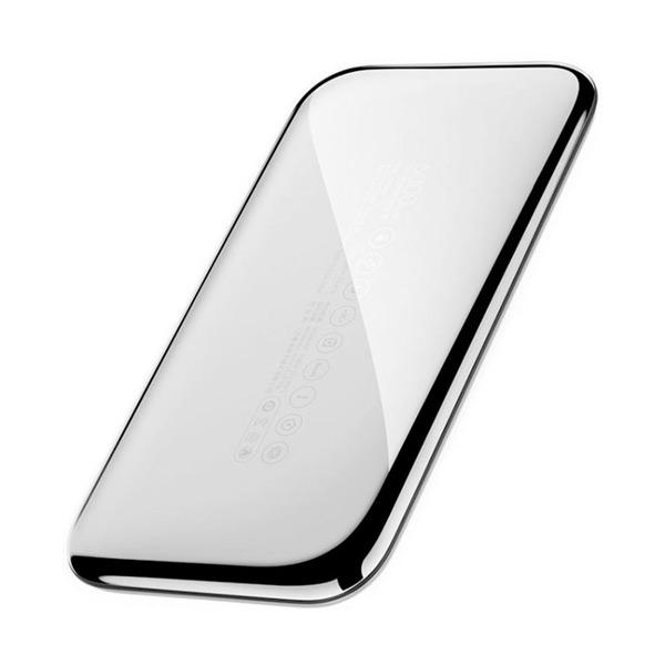 Портативное зарядное устройство Xiaomi ZMI (6000mAh) Хром