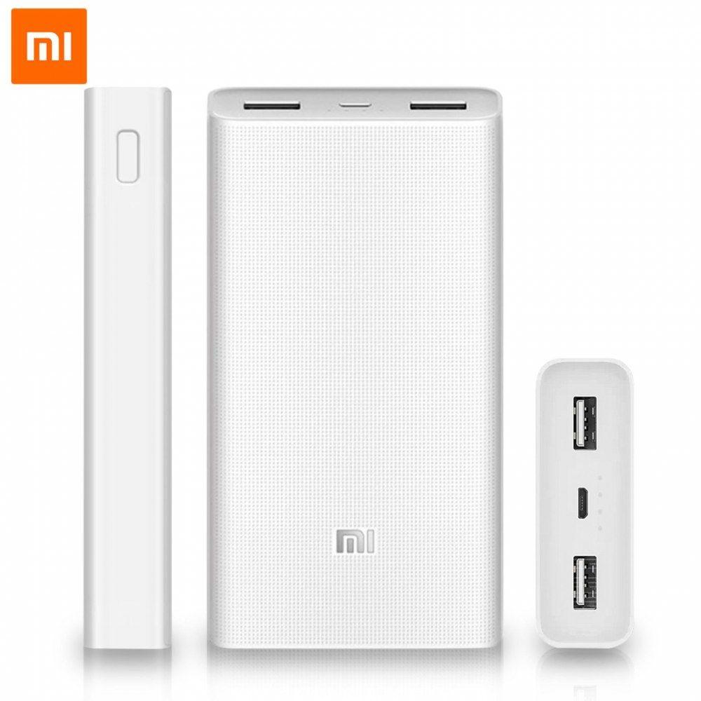 Power bank Xiaomi 2C 20000mAh Silver White