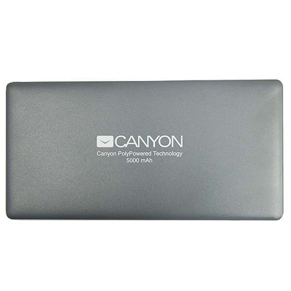 Power bank Canyon 5000mAh CNS-TPBP5DG Silver