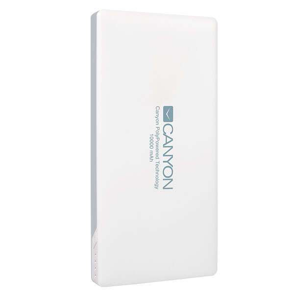 Power bank Canyon 10000mAh CNS-TPBP10W White