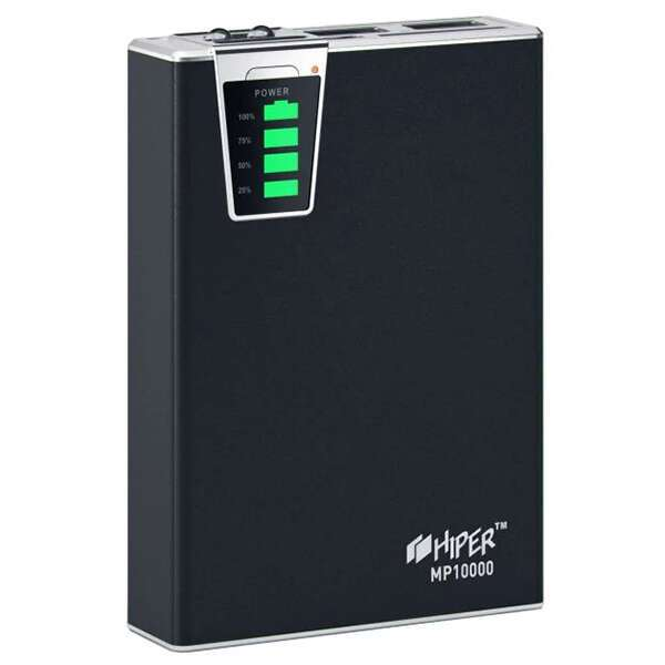 Powerbank Hiper MP10000, Черный