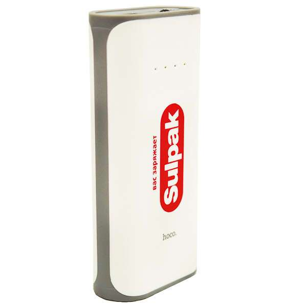 Power bank Hoco Promo Sulpak B21-5200mAh White