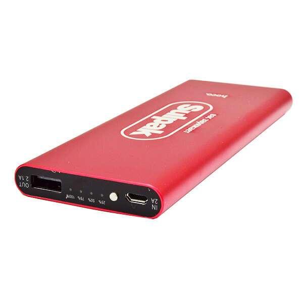 Power bank Hoco Promo Sulpak B16-10000 mah Metal (Red)