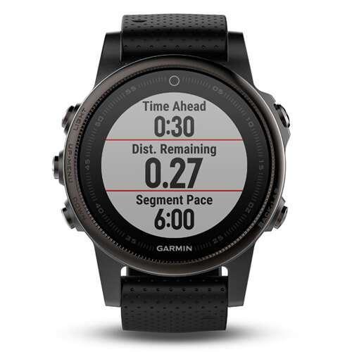 Смарт-часы Garmin Fenix 5S Sapphire (Slate grey with black band)