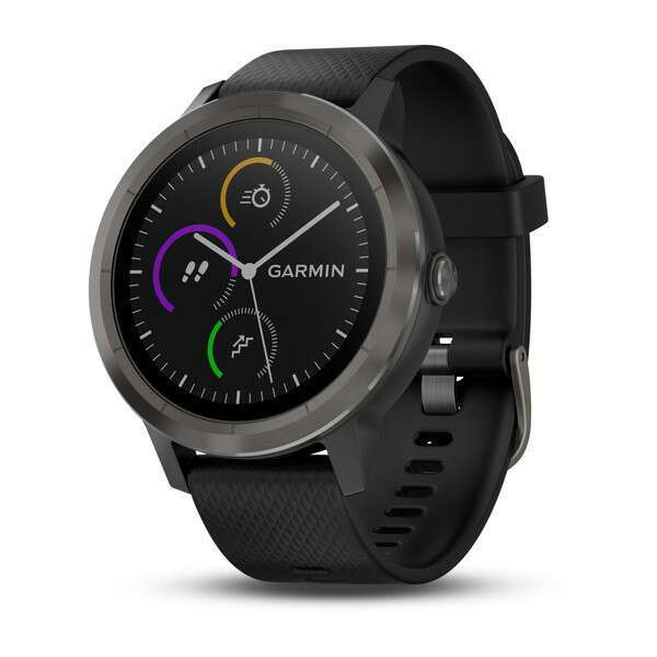Смарт-часы Garmin Vívoactive 3 Black (010-01769-12)