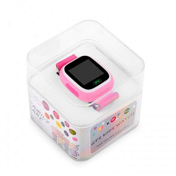 Детский GPS трекер Wonlex GW100 розовые