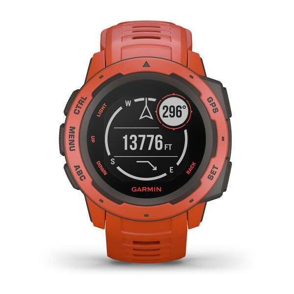 Смарт часы Garmin Instinct Flame Red (010-02064-02)