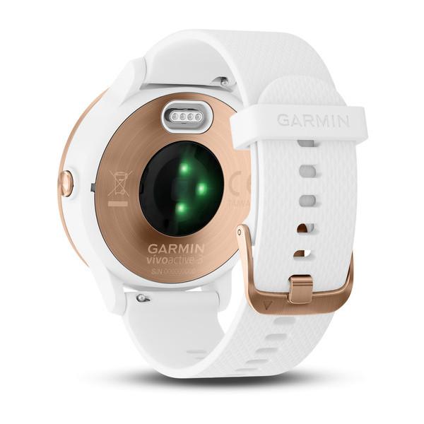 Спортивные часы Garmin vívoactive 3 золотой-белый (010-01769-07)