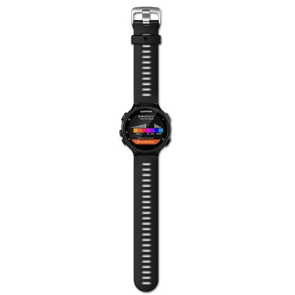 Спортивные часы Garmin Forerunner 735XT PS Run Bundle черный-серый (010-01614-15)