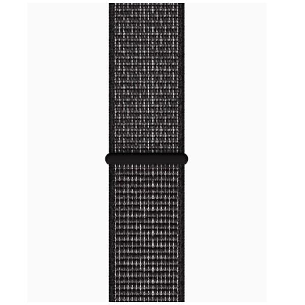 Смарт часы Apple Watch Nike+ Series 4 40mm, спортивный ремешок черного цвета (MU7G2GK/A)