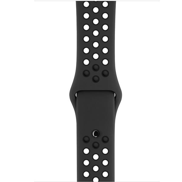Смарт часы Apple watch Nike+ Series 3 42mm спортивный ремешок черного цвета (MTF42GK/A)