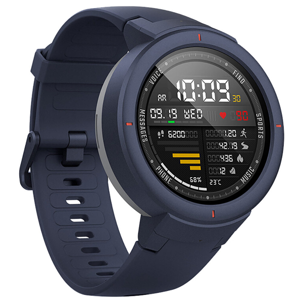 Смарт часы Xiaomi Amazfit Verge (Синий)