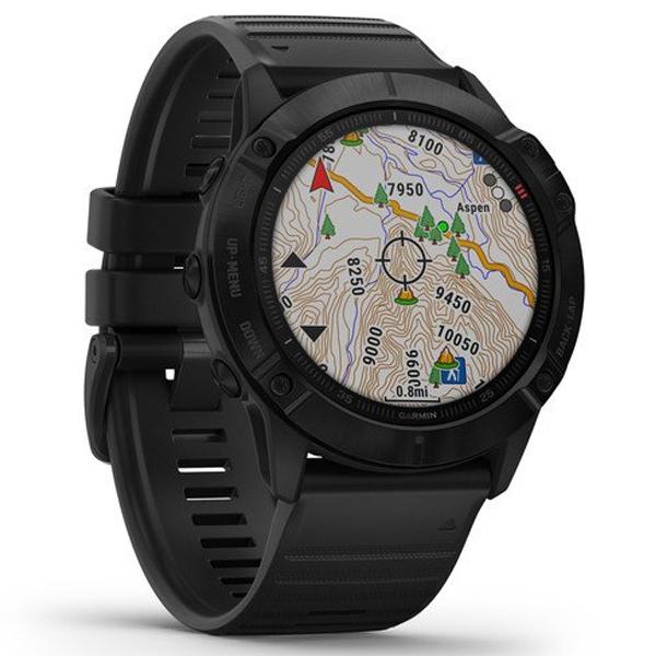 Смарт часы Garmin Fenix 6X Pro Black with Black Band