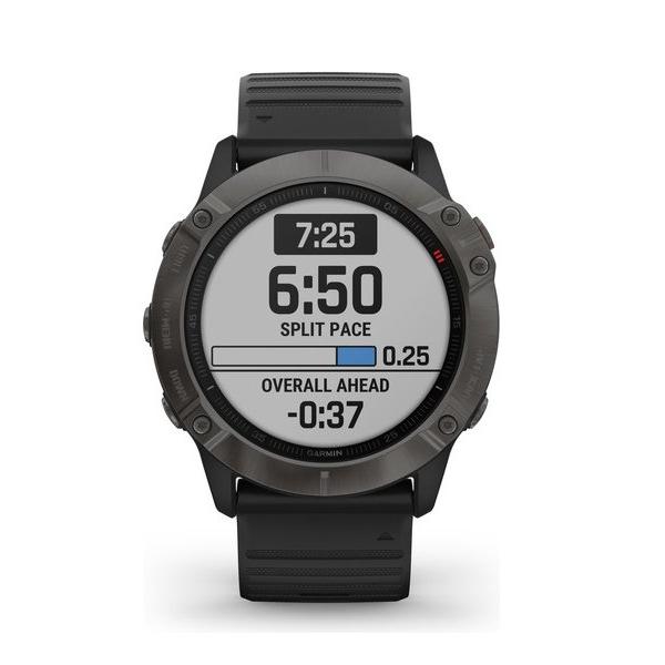 Смарт часы Garmin Fenix 6 Pro Black (Black Band)