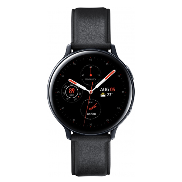 Смарт часы  Samsung Galaxy Watch Active2 Stainless 40mm Black SM-R830NSKASKZ