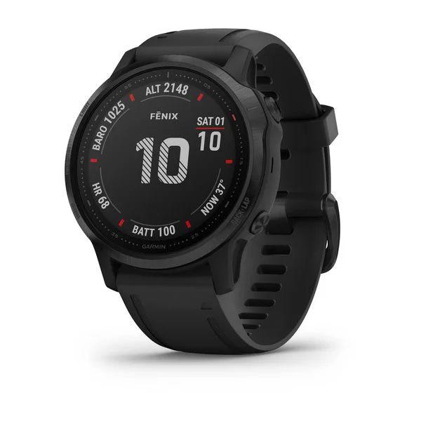Смарт часы Garmin Fenix 6S Pro Black with Black Band (010-02159-14)