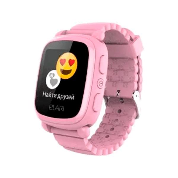 Детские смарт часы Elari KidPhone 2 Pink