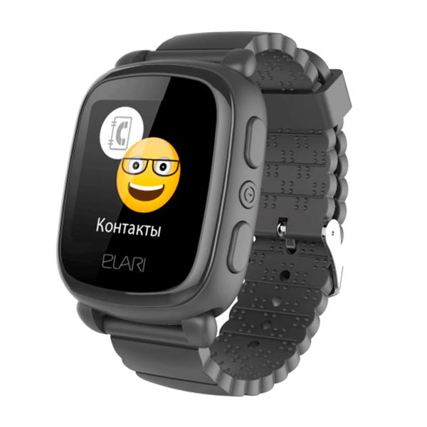 Детские смарт часы Elari KidPhone 2 Black