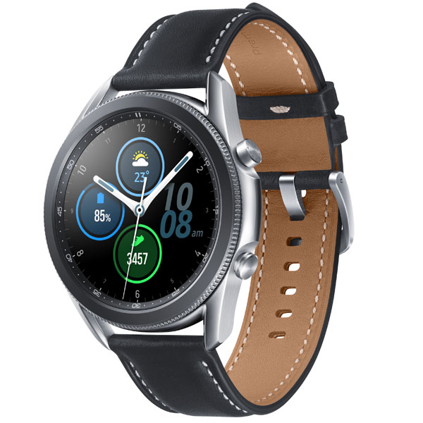 Смарт часы Samsung Galaxy Watch 3 Stainless 41mm Silver (SM-R850NZSACIS)